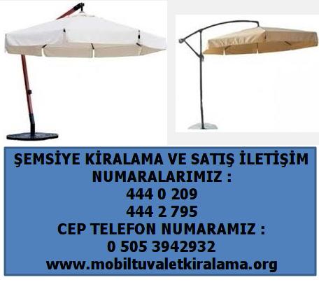 en ucuz şemsiye kiralama