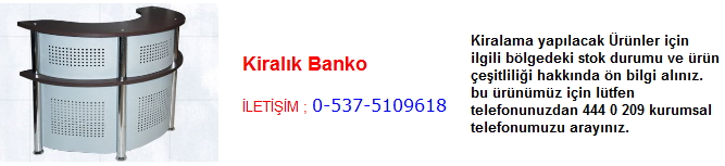 kiralık banko